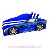 Кровать-машина Mercedes E-4 Элит Viorina-Deko 80х170 мягкий спойлер + подушка + газовый механизм