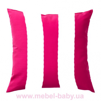 Мягкая розовая подушка для кровати-машинки Элит Viorina-Deko 80х170