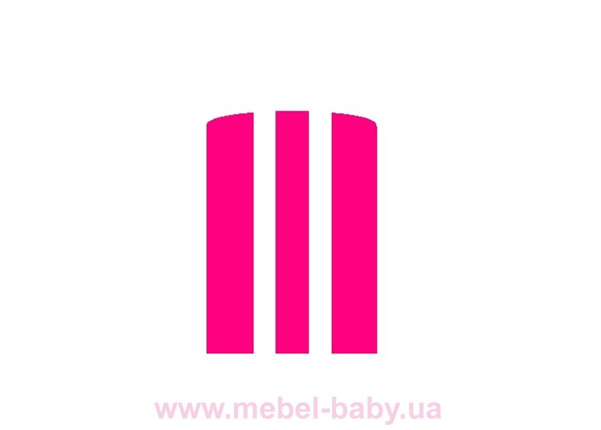 Матрас розовый для кровати-машинки Элит Viorina-Deko 80х170