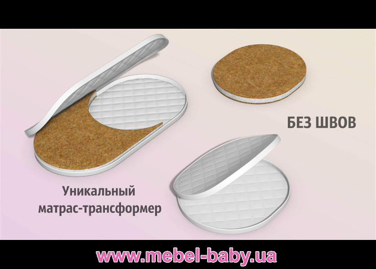 Распродажа Матрасик кокос 2в1 LuxBed Ovalbed