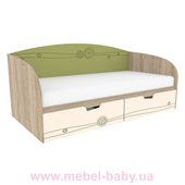 Кровать T-L-01 Edican Троянда оливковая