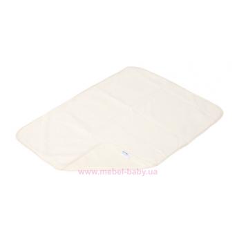 Пеленка двустороняя непромокаемая ЭКО ПУПС Jersey Classic р.50х70 см. (Молочный) ПЕЛ-5070хбтрм