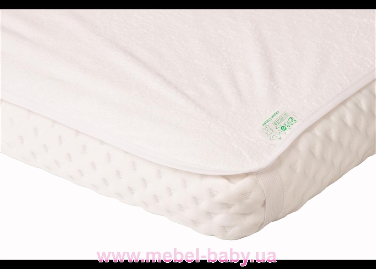 Наматрасник-пеленка 2в1 ЭКОПУПС Classic размер 60х80 см. (Белый) КНАМ6080б