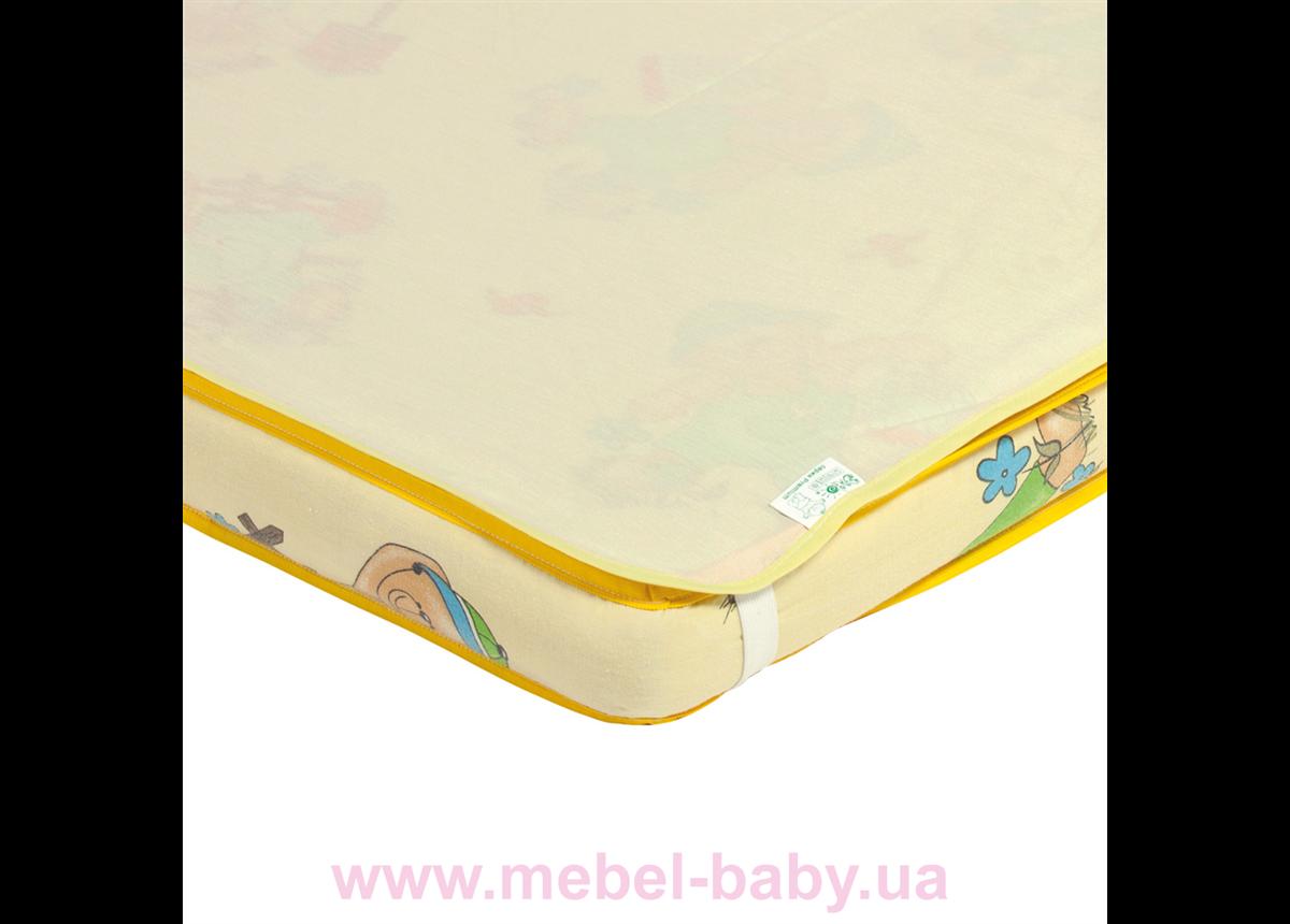 Наматрасник-пеленка 2в1 ЭКО ПУПС Premium размер 60х80 см. (Желтый) ПНАМ8060ж