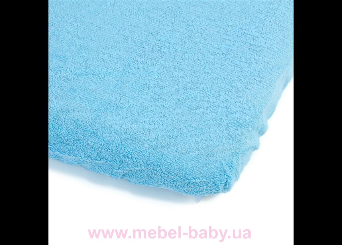Детский непромокаемый наматрасник ЭКО ПУПС Чехол Classic, р. 80х35х6 см (Синий) КНАМЧ8035с