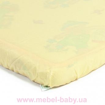 Детский непромокаемый наматрасник ЭКО ПУПС Чехол Premium, р. 80х35х6 см (Желтый) ПНАМ8035ж