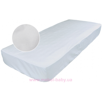 Детский непромокаемый наматрасник ЭКО ПУПС Чехол Premium , р. 80х160х25,5 см (Белый)
