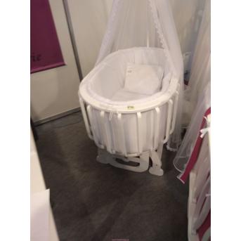Круглая кроватка Evo Mamma 54x92