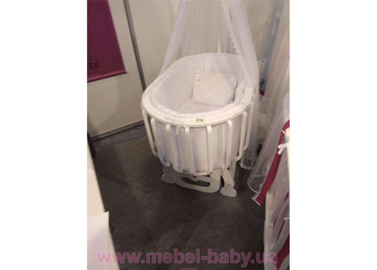Круглая кроватка Эво Mamma