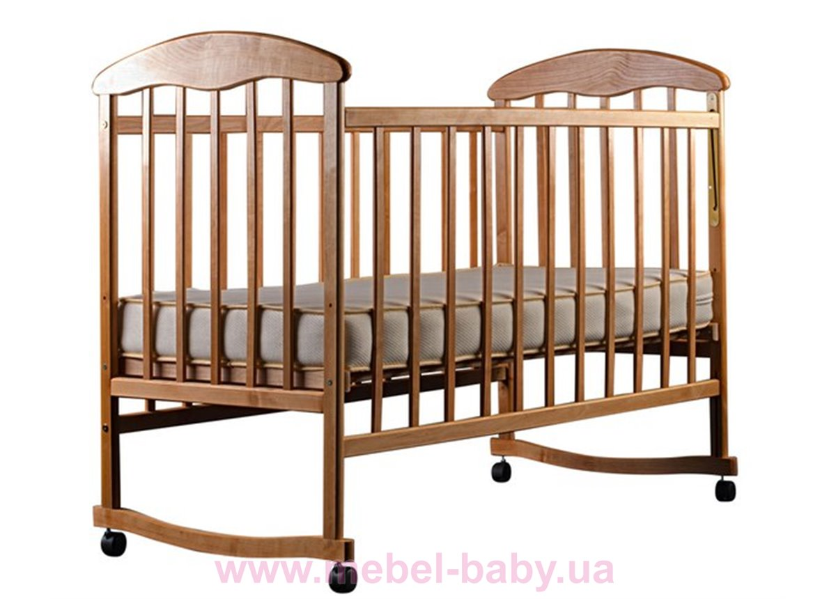 Кровать ОС ольха светлая 20002 Наталка 60x120