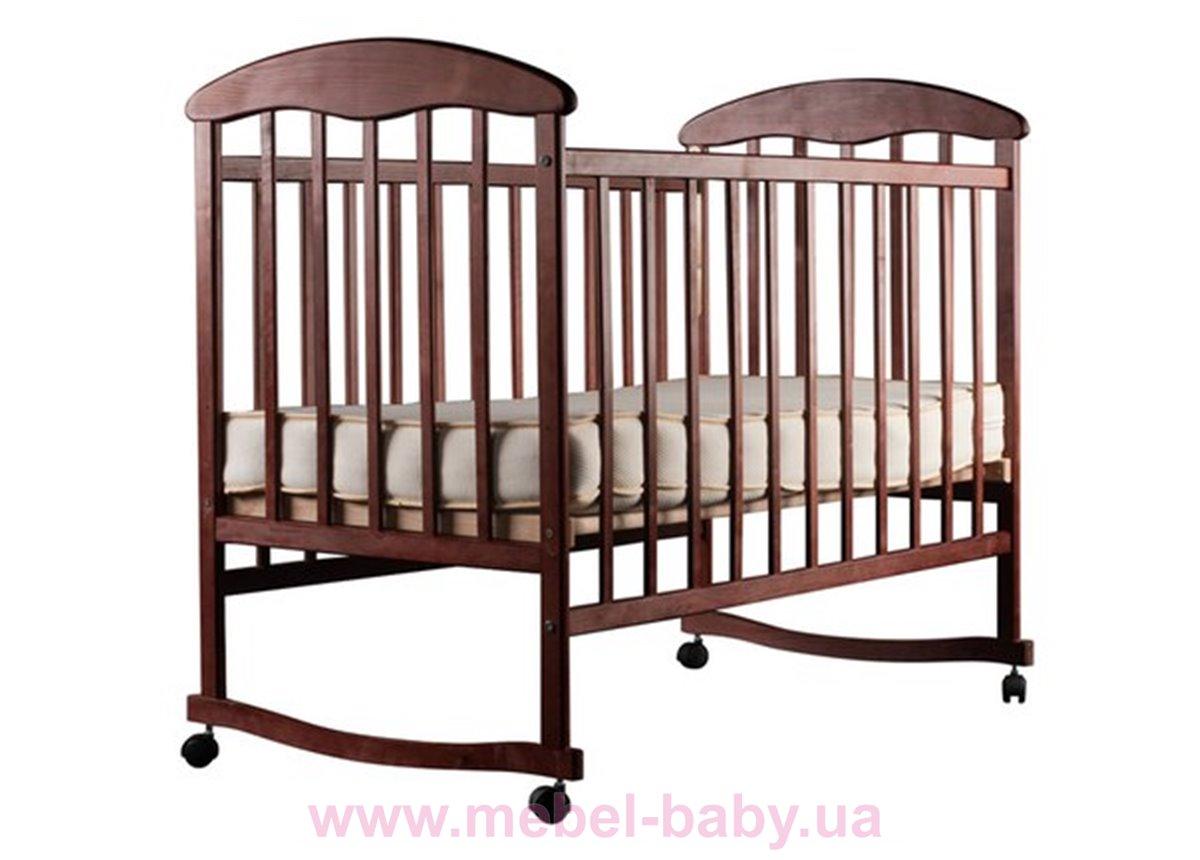 Кровать ОТ ольха темная 20003 Наталка 60x120
