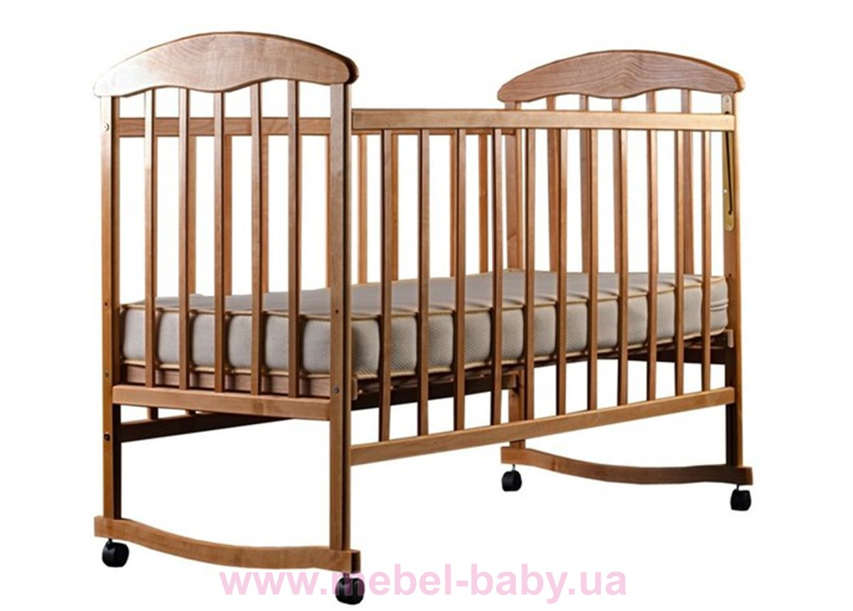 Кровать ЯС ясень светлый 20005 Наталка 60x120