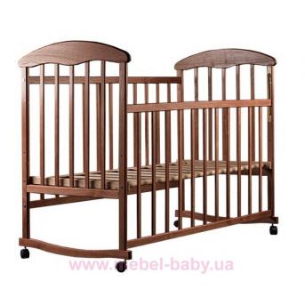 Кровать ЯТ ясень темный 20006 Наталка 60x120