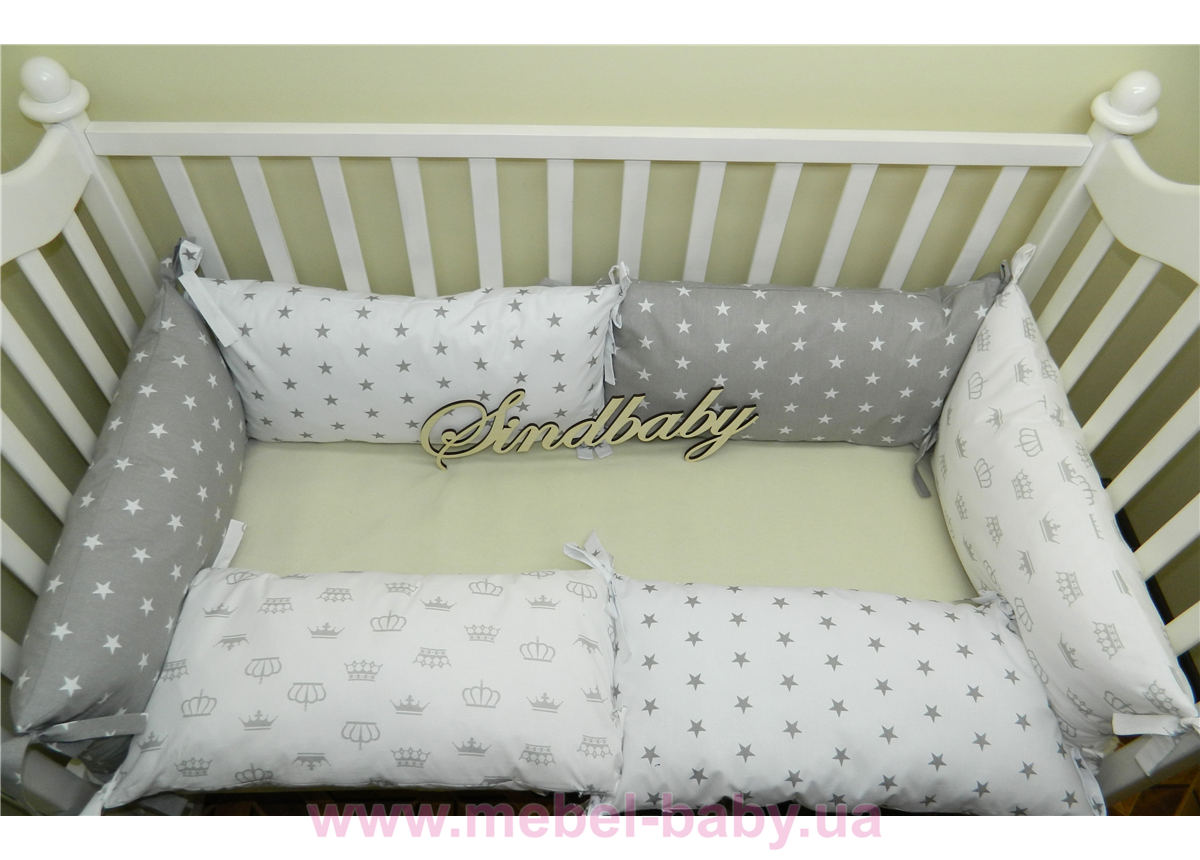 Бортики в кроватку Комплект №12 Sindbaby
