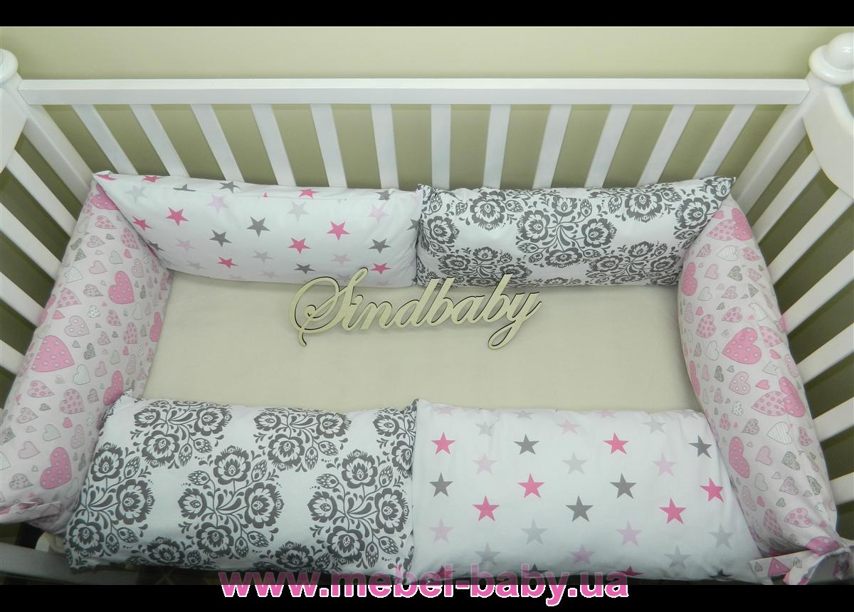 Бортики в кроватку Комплект №13 Sindbaby