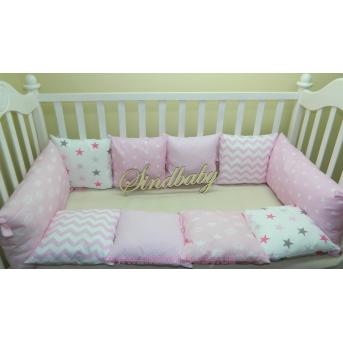Бортики в кроватку Комплект №18 Sindbaby