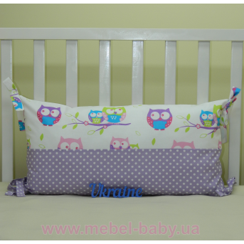 Бортики подушки в кроватку, Подушка - 01 Sindbaby