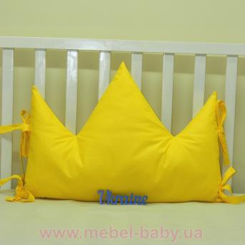 Бортики подушки в кроватку, Подушка Корона - 03 Sindbaby