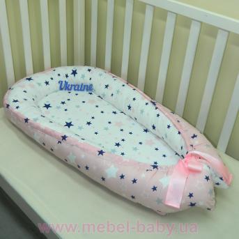 Гнездышко кокон позиционер для новорожденного BabyNest - 14 Sindbaby