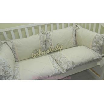 Бортики подушки, комплект «Роскошный» Sindbaby