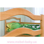 Двухъярусная кровать София (с ящиками) Венгер 80х190 Дерево
