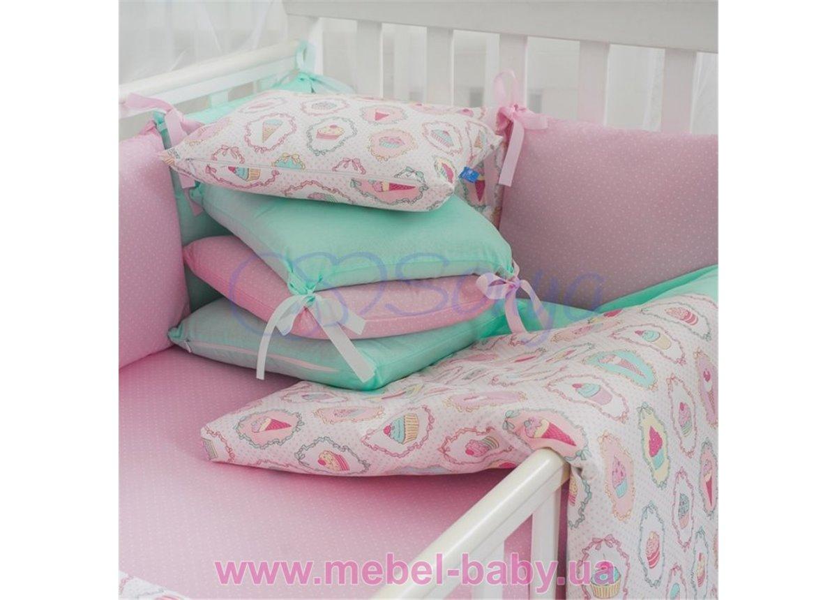 Комплект Baby Design Premium пирожные (6 элементов) Маленькая Соня