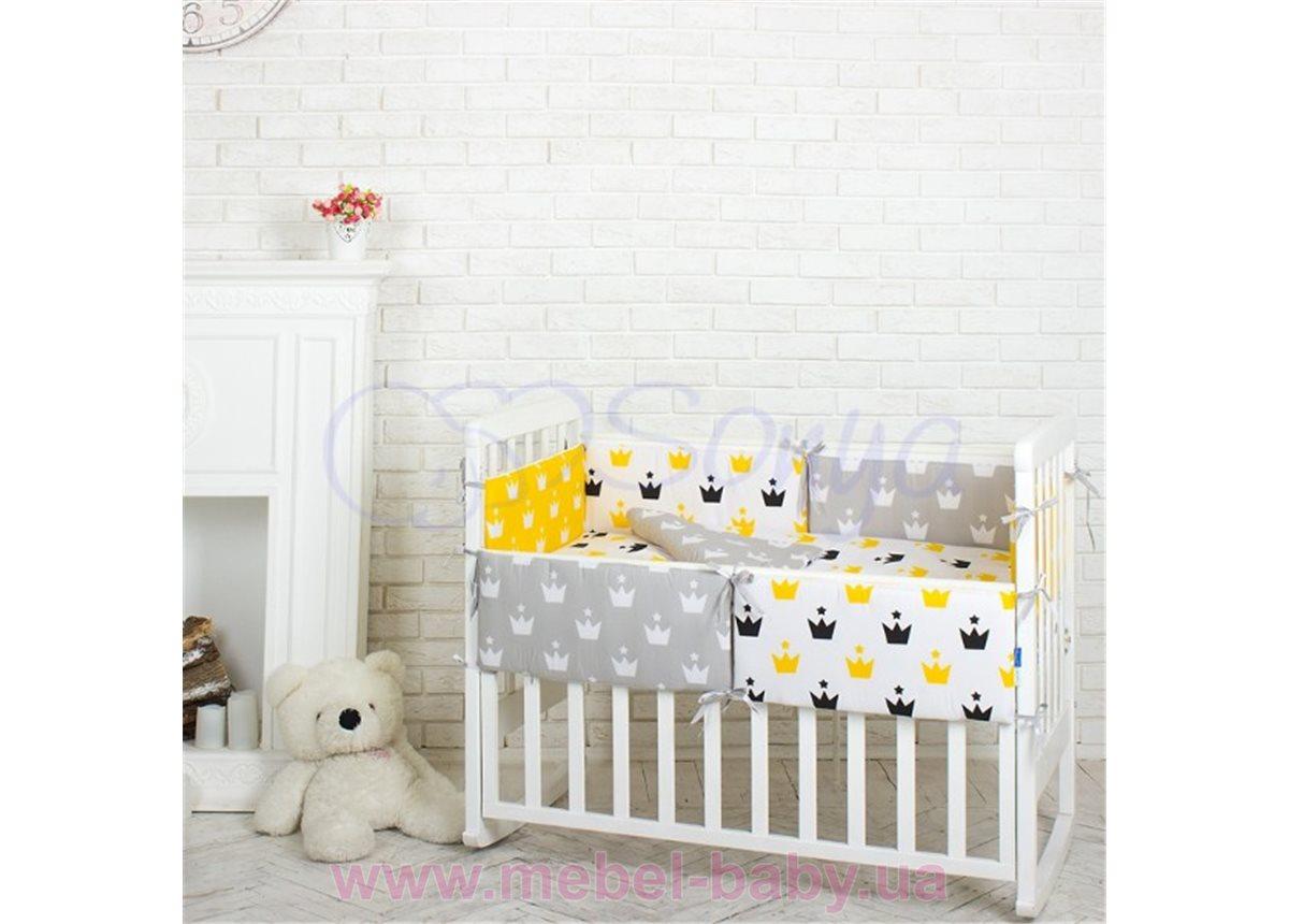 Комплект Comfort Желтые короны (6 предметов) Маленькая Соня