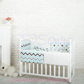 Комплект Comfort Пряники голубые (6 предметов) Маленькая Соня