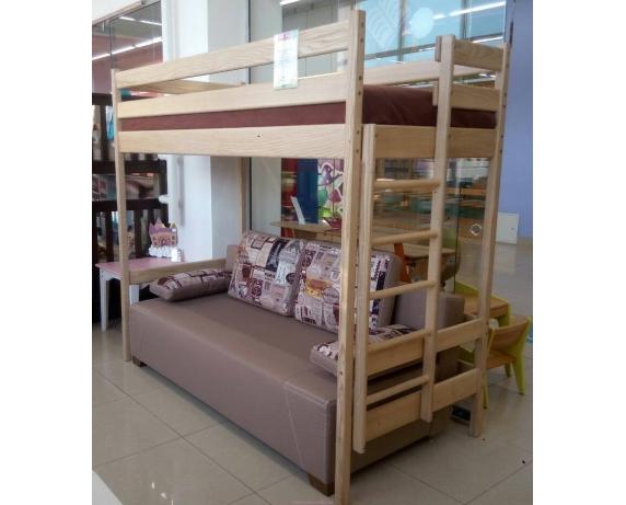 кровать чердак с диваном Mebel Baby Mebel Baby