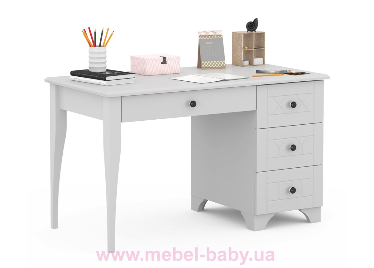 5011_Письменный стол RE 120 правый Royal Grey Meblik