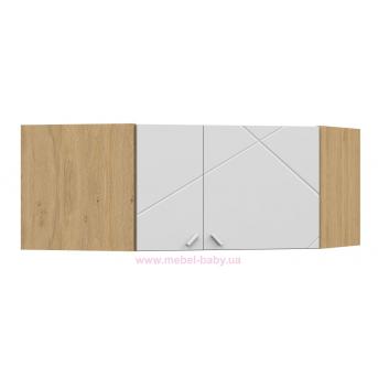 440_Антресоль шкафа углового  X Oak Meblik