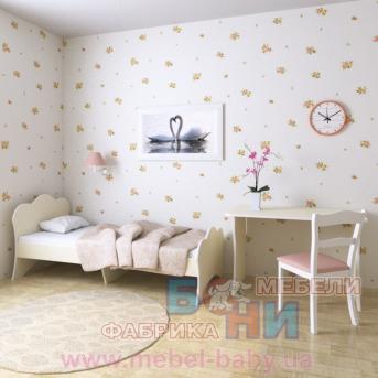 """Кроватка """"Адель""""  Бони-Мебель 80x190"""