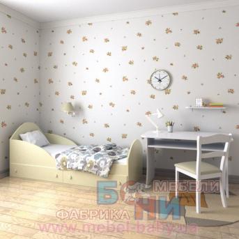 """Кроватка """"Берта"""" Бони-Мебель 70x140"""