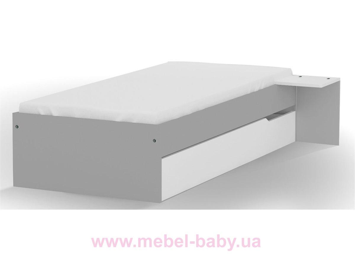 Распродажа 446_Кровать 90х200 Uni Grey