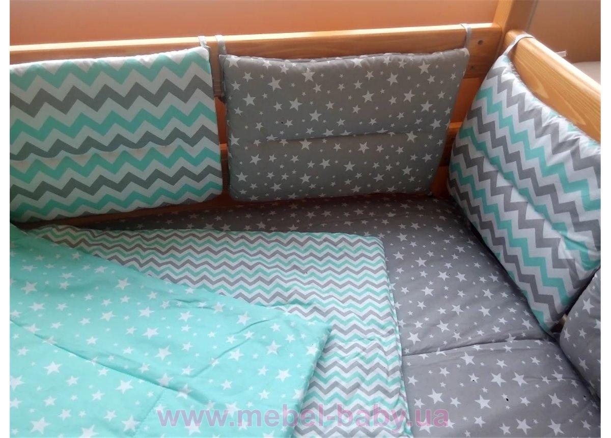 Защита на двухъярусную кровать Ирель-Комфорт 80х190