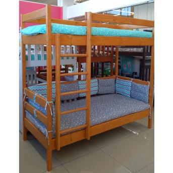 Двухъярусная кровать Ирель-Комфорт 80x190 сосна Mebel-Baby