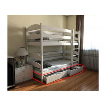 Ящики к двухъярусной кровати-трансформер Лакки (масcив) Луна