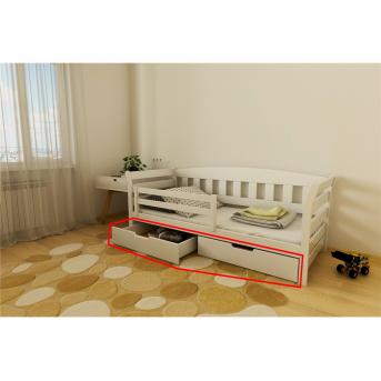Ящики к кровати-диванчик Тедди 1-спальная (масcив) Луна