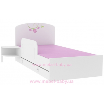 Распродажа 174_Кровать 190х120 Meblik Roza roz