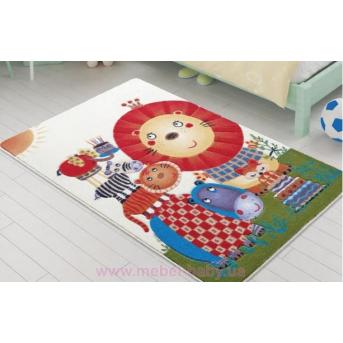 Ковер Confetti - Lion King оранжевый 100*150
