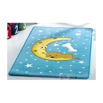 Ковер Confetti - Moon голубой 100*160