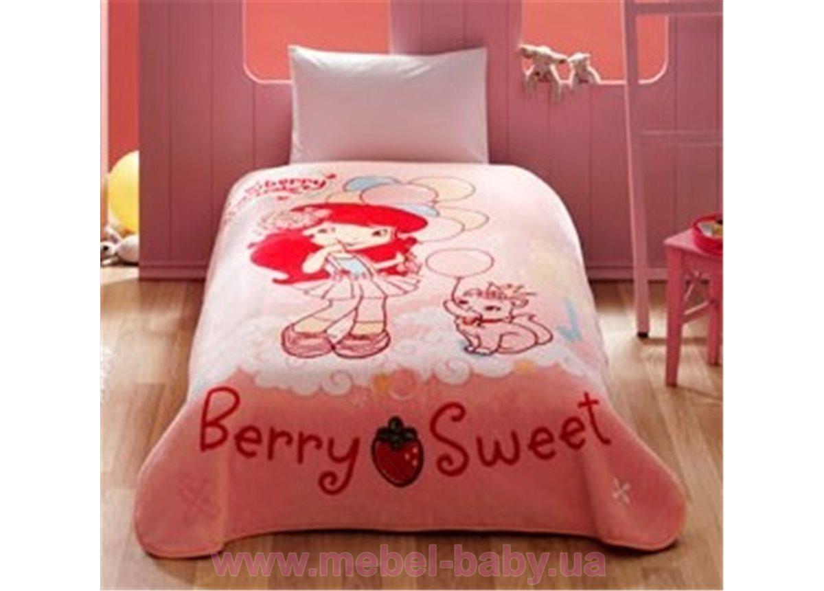 Покрывало акриловое подростковое Tac Disney - Stawberry Sweet 160x220