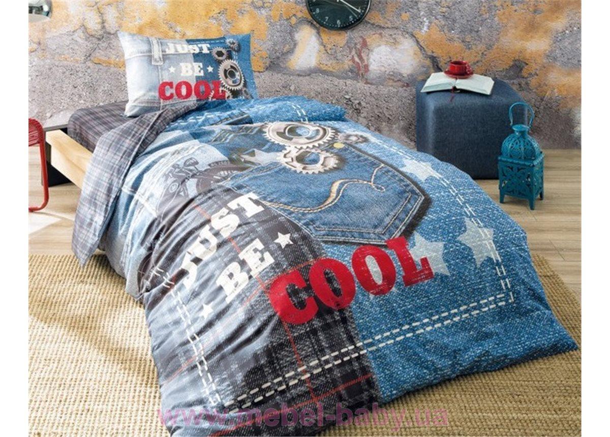 ... Постельное белье Tac Ranforce Teen - Cool голубой 819e667e25f7f