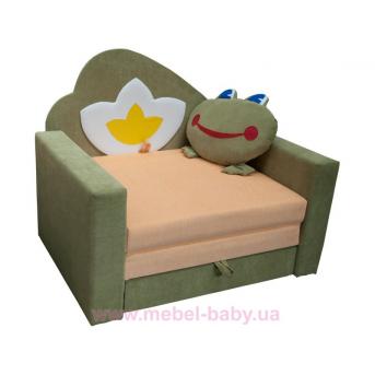 Диван большой детский раскладной малютка лягушка Ribeka