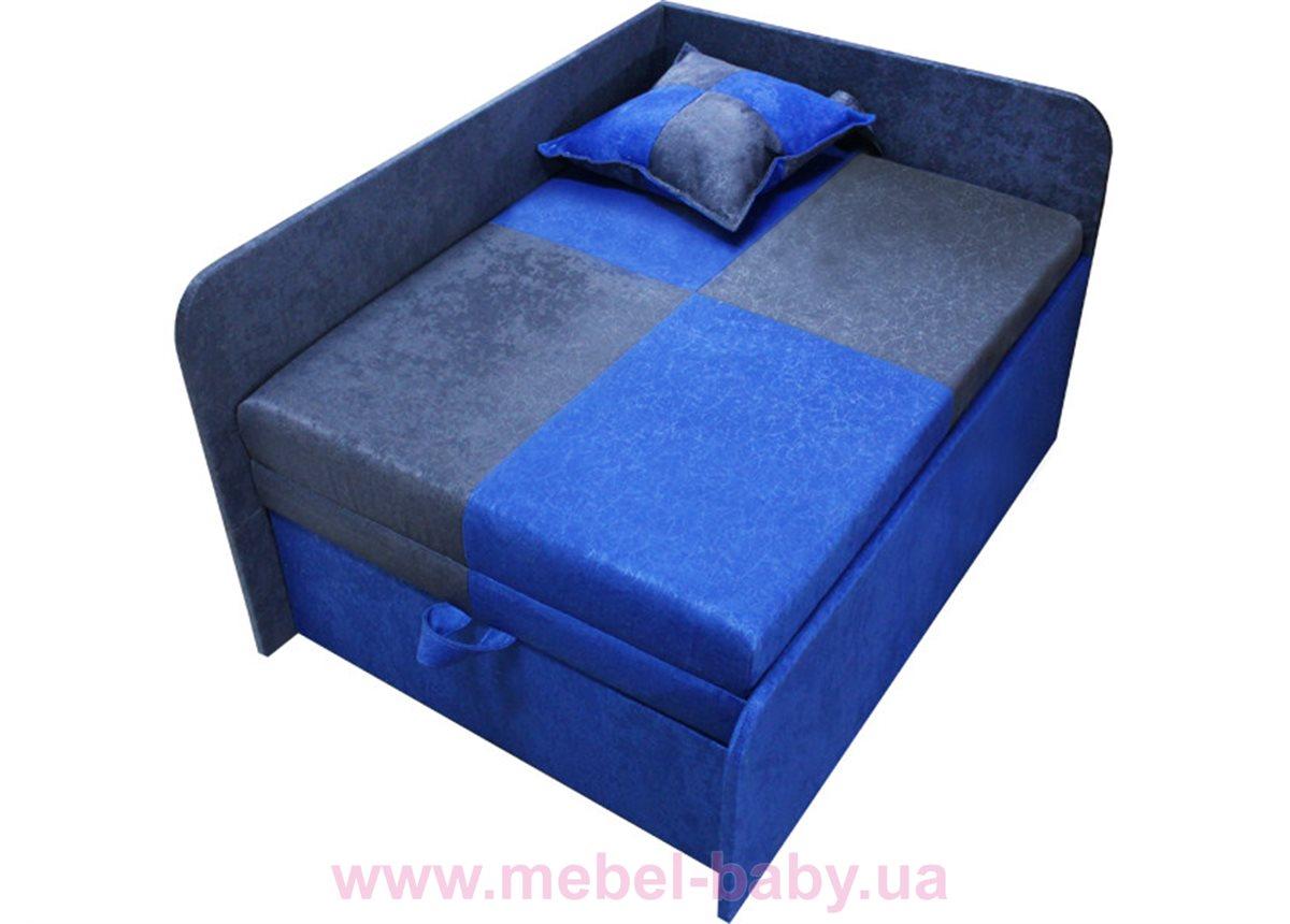 Диван детский угловой раскладной малютка мини Ribeka синий