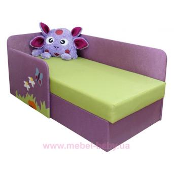 Детский угловой диванчик с бортиком лунтик Ribeka