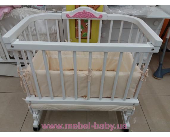 Распродажа Комплект Приставная кровать Multi-bed Premium декор стандарт Ажур + текстиль