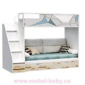 Двухъярусная кровать-диван O-M-004 Origami Эдисан