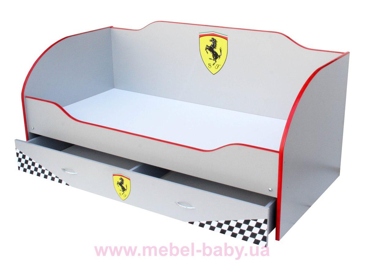 Кровать детская Kinder-cool KC 011 + ящик Viorina-Deko 170x80 серый
