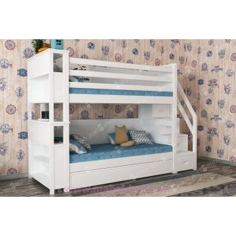 Кровать детская двухъярусная Синдерелла +